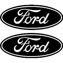 2 Black Ford Emblem Decals Stickers 04-11 Ranger F150 F250 F350 4x4