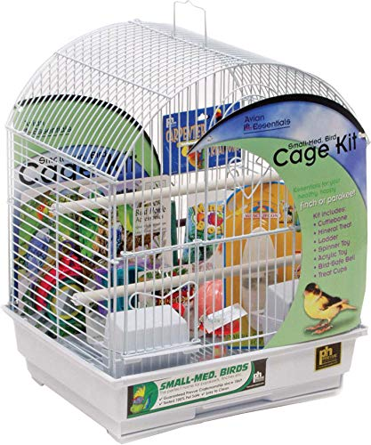 - Round Top Parakeet Bird Starter Kit