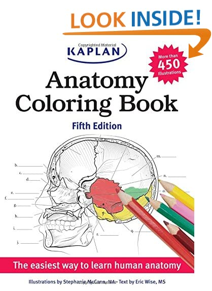 physiology coloring book - Neuroanatomy Coloring Book