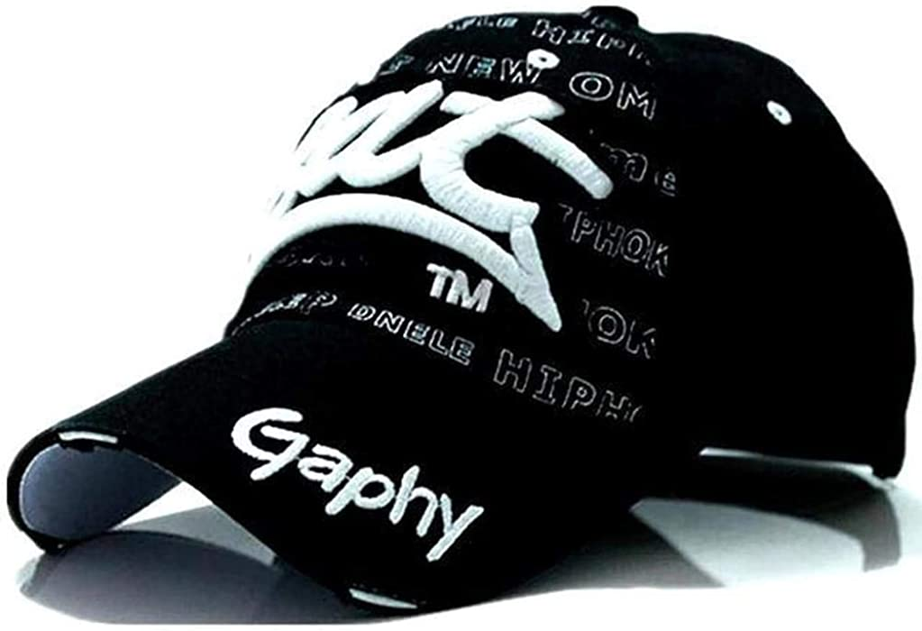 Amazon.com: Baseball Cap Hats Hip hop Fitted Hats for Men Gorras Curved Brim Hats BX002: Clothing