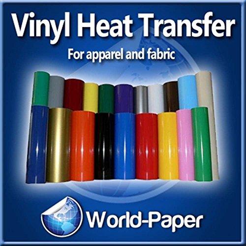 Iron on heat transfer vinyl t shirts craft cutter 10 x for Craft vinyl cutter reviews