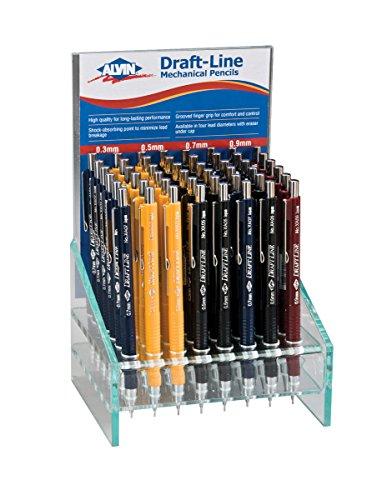 Alvin XA300D Draft-Line Mechanical Pencil Display by Alvin