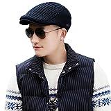 Siggi Irish Wool Duckbill Ivy Flat Cap for Men Newsboy Gatsby Driver Caps Hat