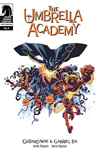 Pdf Graphic Novels Umbrella Academy: Hotel Oblivion #5