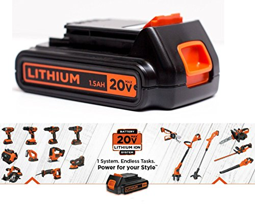 black and decker 20v max battery - 6