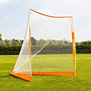 FORZA Proflex Pop-Up Lacrosse Goal   6ft x 6ft Portable Lacrosse Goal   Carry Bag and Ground Pegs Included