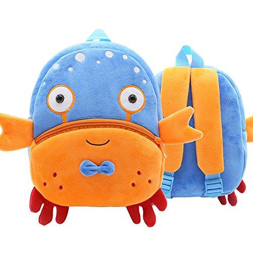 DDKK backpackss Children Kids School Backpacks, Eabr Baby Shark School Bag for Children Kids Cute Plush School Backpacks Boys Schoolbag