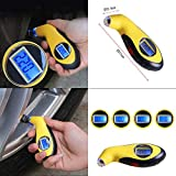 FidgetFidget Meter Tester Tire Pressure Guage Digital Car Bike Tyre Gauge Truck Auto Air PSI