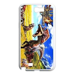 Samsung Galaxy N2 7100 Cell Phone Case White_Monster Hunter 4 Ultimate_014 Ujjuz