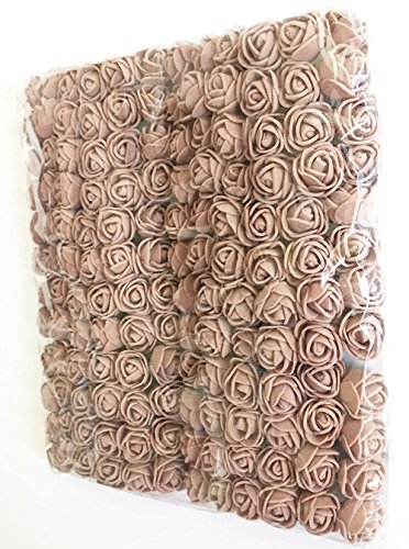 Fake-Rose-Flower-Heads-Artfen-144pcs-Mini-Artificial-Roses-DIY-Wedding-Flowers-Accessories-Make-Bridal-Hair-Clips-Headbands-Dress-Approx-1-Inch-Diameter