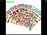 RENOOK Stickers 1000 + and 20 Different Scenes , 3D Puffy Stickers, Year-Round Sticker Bulk Pack for Teachers School,Students, Toddlers,Scrapbooking, Girl Boy Birthday, Including Cars and More