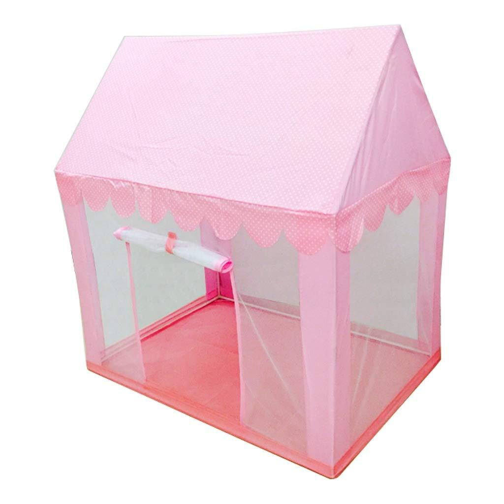 ZPHWH-E HWH Household Toy Room, Kinder Zelt Indoor Männlichen Mädchen Haus Moskito Atmungs Baby Spiel Haus Spielzeug Lagerung 100  70  110 cm Spiel Haus