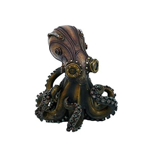 Steampunk Octopus Collectible Figurine 3
