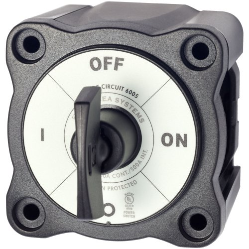 Blue Sea 6005200 Battery Switch Single Circuit On-Off by Blue Sea Systems