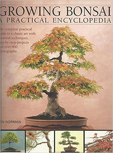 Growing Bonsai A Practical Encyclopedia Ken Norman 9781844778997 Amazon Com Books