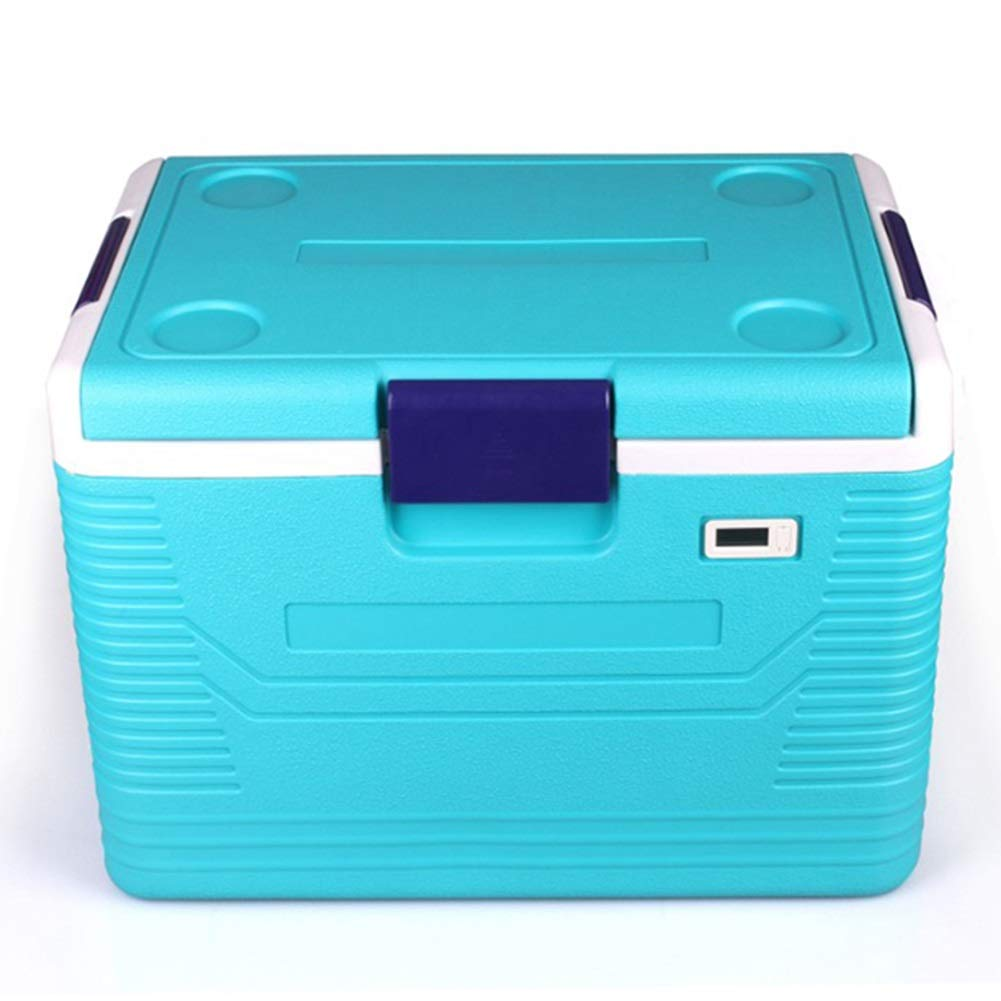 LIANGLIANG クーラーボックス保温性があります新鮮なインスリントランスポートボックス54L (色 : Green blue, サイズ さいず : 62x42x46cm) 62x42x46cm Green blue B07GR2JJKP
