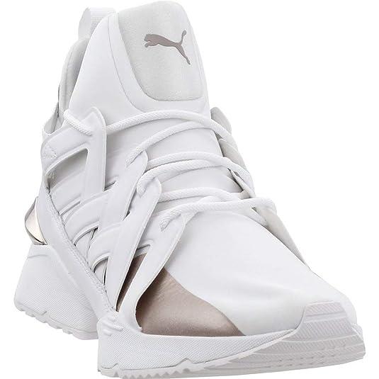 353322c57c51 Amazon.com | Puma Womens Muse Echo Hight Top Lace Up Fashion Sneakers |  Fashion Sneakers