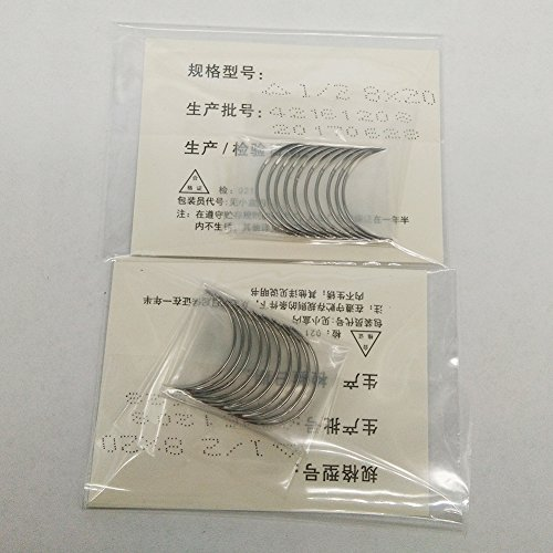 100 pcs 1/2 Circle Suture Needle Cutting & Round 8x20 - 1/2 Circle Needles