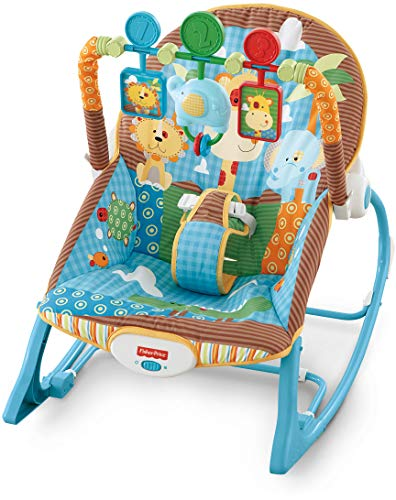 Fisher-Price Infant-to-Toddler Rocker, Jungle Fun -
