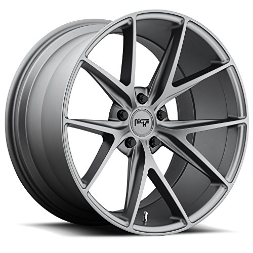 19x9.5 Niche Wheels Misano 5x114.3 35 Offset 72.6 Centerbore/Hub - Matte Gunmetal [Authorized Dealer] M116199565+35