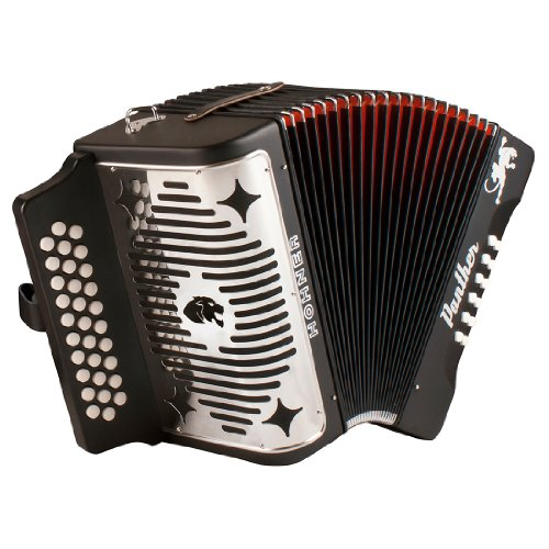 Hohner 3100FB, Panther, 3-Row FBE Diatonic Accordion by HOHNER