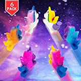 PROLOSO 6 Pack Squishy Fidget Toys Slow Rising Scented Unicorn Squeeze Stress Reliever