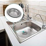 Kitchen Sink Drain Strainers x 1, Anti-Clogging