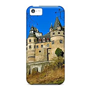 Brand New 5c Defender Case For Iphone (beautiful Burresheim Castle In Germany)