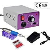 CO-Z Professional Electric Nail Drill Machine Kit for Acrylic Manicure Pedicure (purple) Reviews