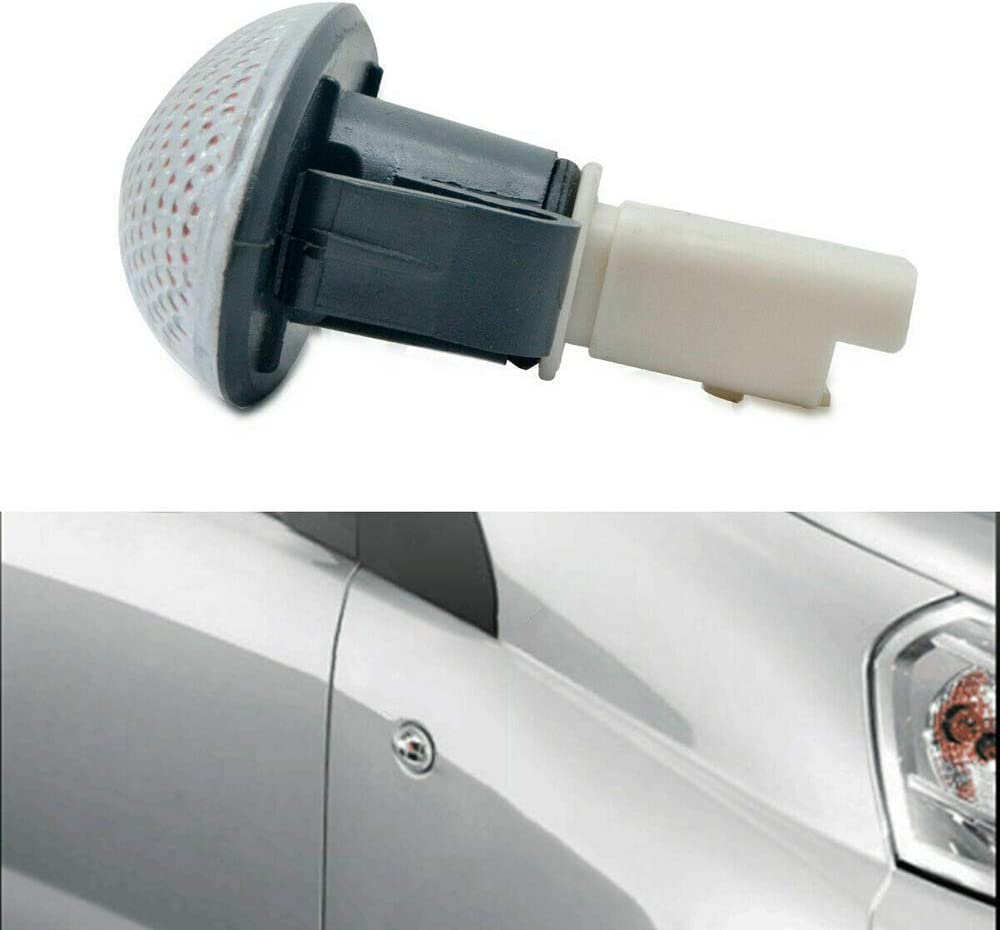 KKmoon Side Light Car,Repeater Indicator Lamp Compatible With P eugeot 206 407 307 Partner 632570