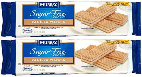 Murray Sugar-Free Vanilla Creme Wafer Cookies - 9 oz - 2 Pack