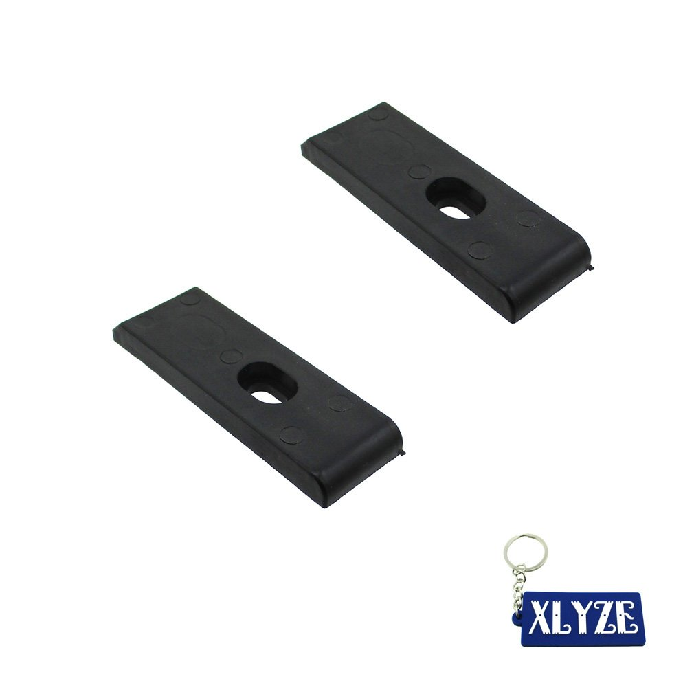 XLYZE 5x Black Nylon Chain Slider Swing Arm Guard Protector For 50cc 110cc 125cc 140cc 150cc 160cc Pit Dirt Bikes