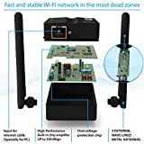 Wifi Extender Internet Booster Signal Extenders Wireless Repeater - Best Range Network Plug-In - 360 Degree Full Coverage Up to 300 Mbps - 33 ft range