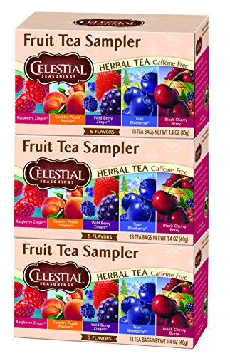 Celestial Seasonings Tea, Fruit, 18 Count (3 Pack)