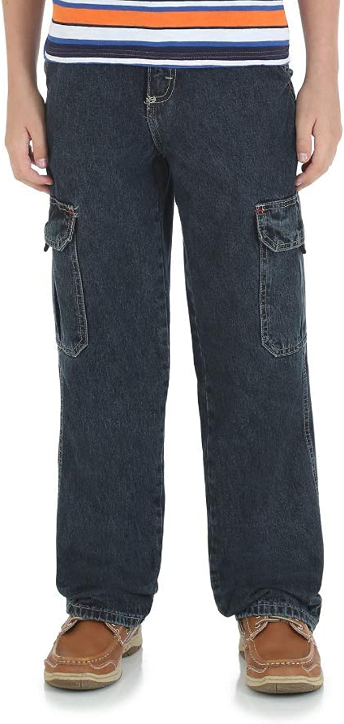 4 Cargo Regular Wrangler Cargo Regular Boys Denim Jeans