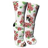 HAQCN Tuxedo Cat and Roses Compression Socks for Men & Women ¨C Best for All Sports,Travel, Nurse.
