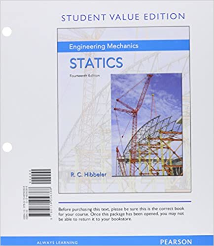 Amazon engineering mechanics statics student value edition engineering mechanics statics student value edition plus mastering engineering with pearson etext access card package 14th edition 14th edition fandeluxe Choice Image