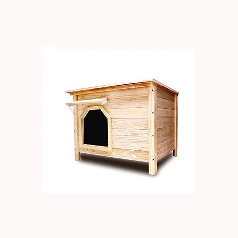 Lijin light Pequeño sin Puerta sin Ventana Exterior Interior Plano Superior casa de Perro de carbón