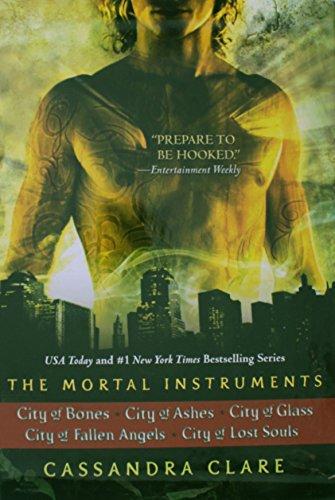 The Mortal Instruments: City of Bones; City of Ashes; City of Glass; City of Fallen Angels; City of Lost (Mortal Instruments Series)