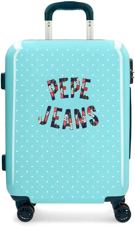 Pepe Jeans, Maleta, 55 cm, 37 Liters, Azul
