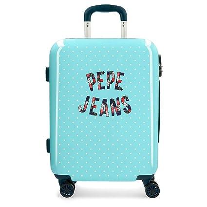 Maleta de cabina Pepe Jeans Emory rígida 55cm dots: Amazon ...