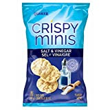 Quaker Crispy Minis Salt and Vinegar Flavour Rice Chips (Pack of 12)