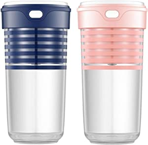 LYS Portable Electric Juicer Cup,USB Rechargeable Automatic Juice Extractor Blender a/B/As Shown