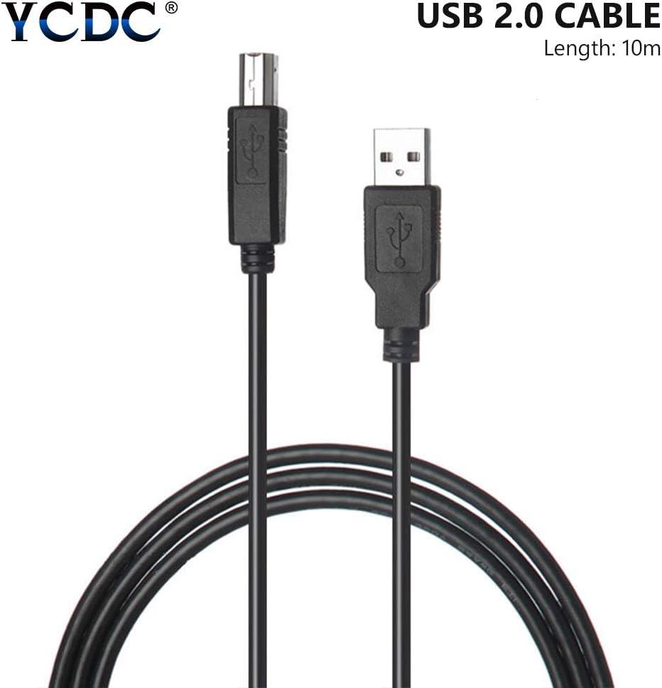 Cable de Impresora, USB 2.0 Tipo A Macho a B Macho, Cable genérico ...