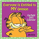 Garfield: Everyone is Entitled to My Opinion 2017 Mini Wall Calendar, 7