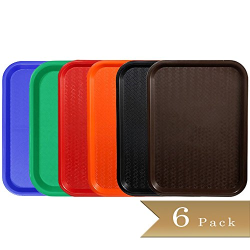 Assorted Color Trays - 4