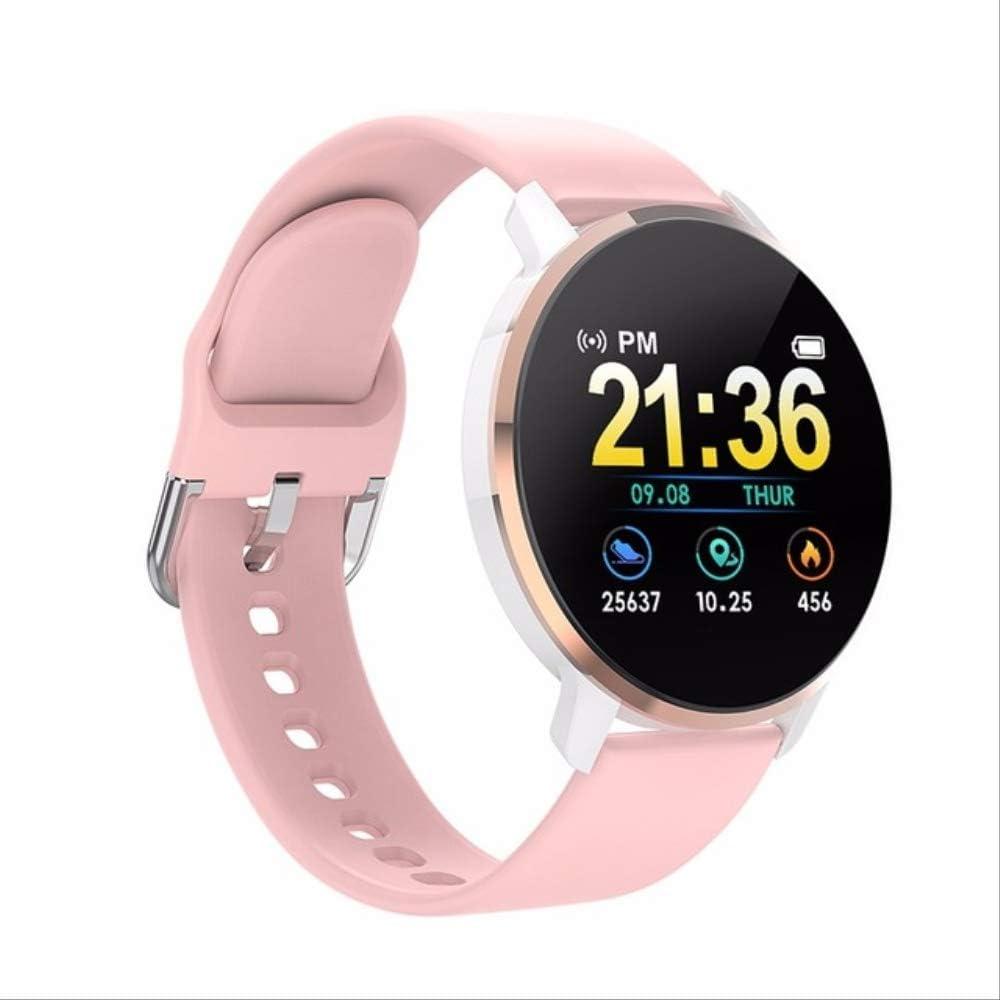 DAJUZI Reloj Inteligente 2020 Hombres Presión Arterial Pantalla táctil Redonda Relojes Inteligentes Mujeres Recordatorio Bluetooth Control Remoto Pulsera de Salud