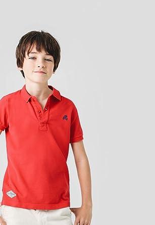 Scalpers Basic Polo Kids - Polo para niños, Talla 10, Color Rojo ...