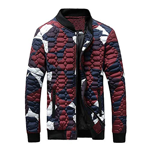2018 New Mens Winter Camouflage Thickening Coat Pullover Shirt Top Jacket]()