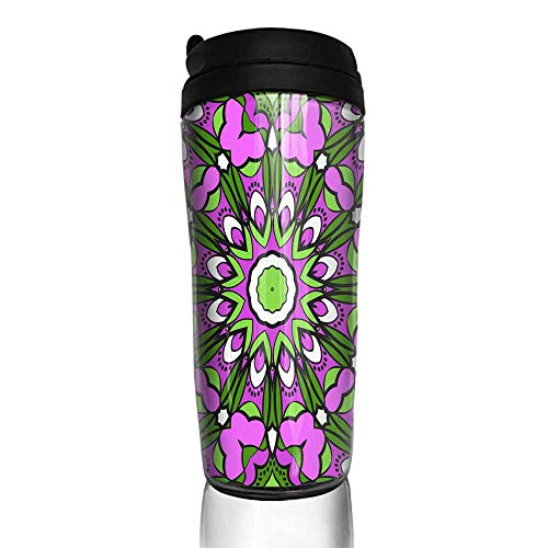 coffee cups warmer Seamless art deco floral pattern with modern style ornament on color background For wallpaper cover book fabric scrapbooks 13 12 oz,coffee cup hooks for hanging rustic (Pattern Kitchenaid Cover)